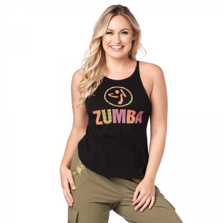 Zumba Dance Tribe Open Back Tank