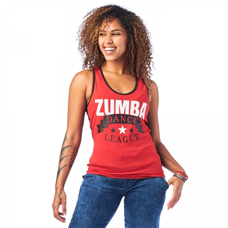 Zumba Dance League Racerback