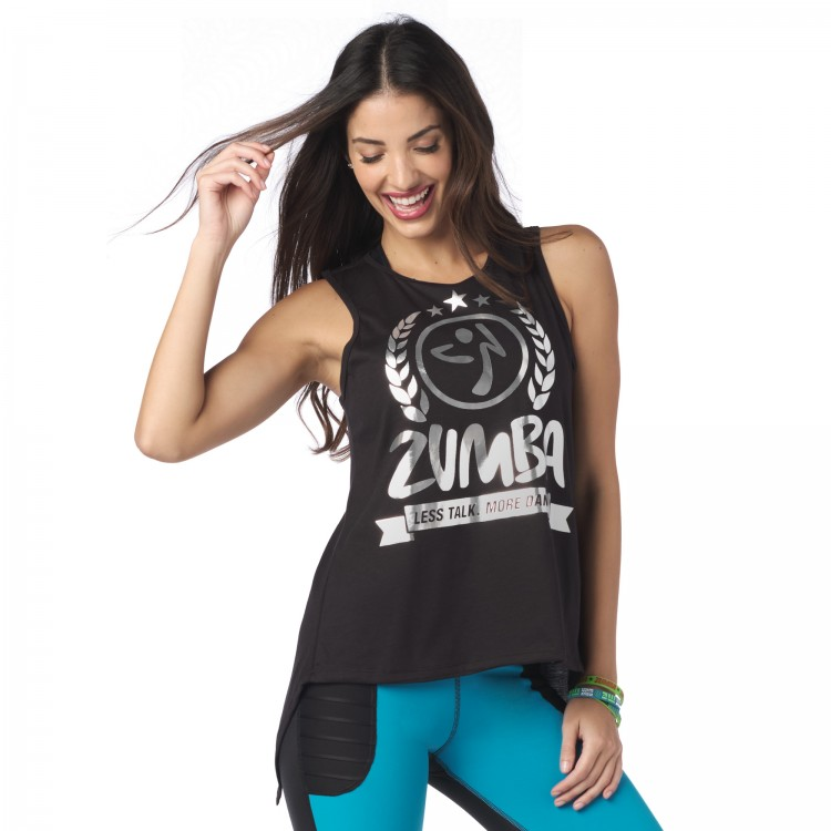 Less Talk More Dance Open Back Tank