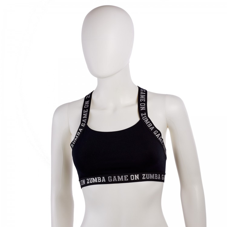 Zumba Game On Open Back Bra