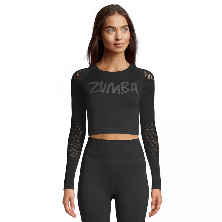 Body By Zumba Long Sleeve Top