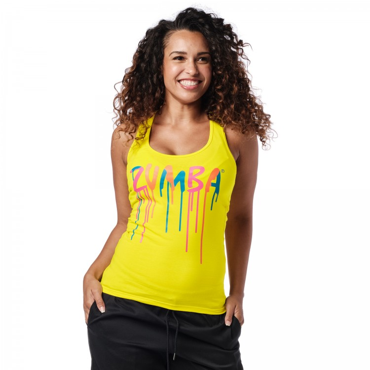 Dripping In Zumba Racerback