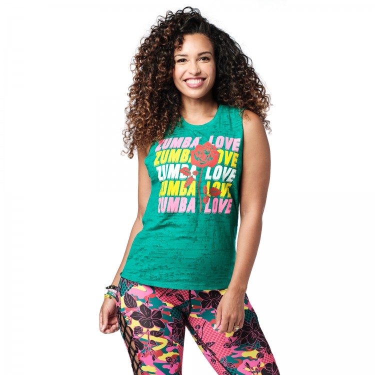 Spread Zumba Love Tank