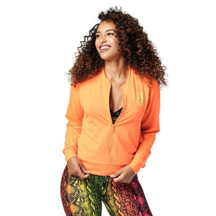 Wild For Zumba Zip Up Jacket