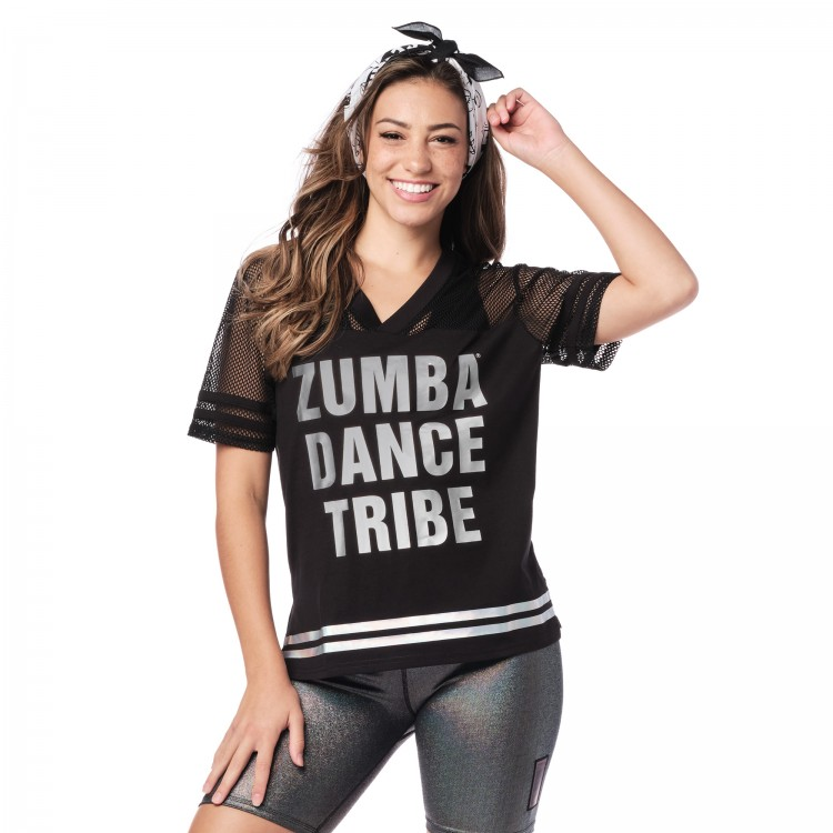 Zumba Dance Tribe Mesh Top
