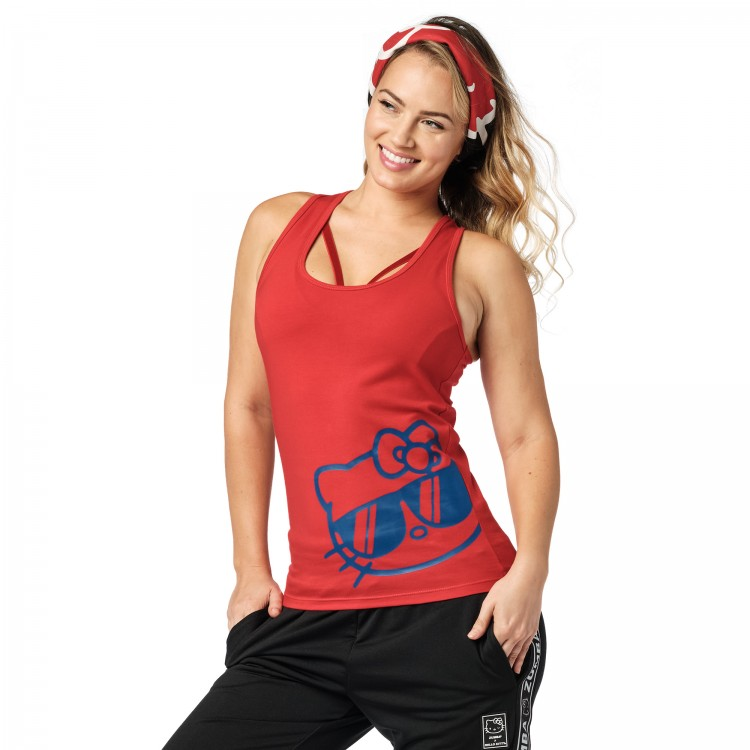 Zumba X Hello Kitty Racerback