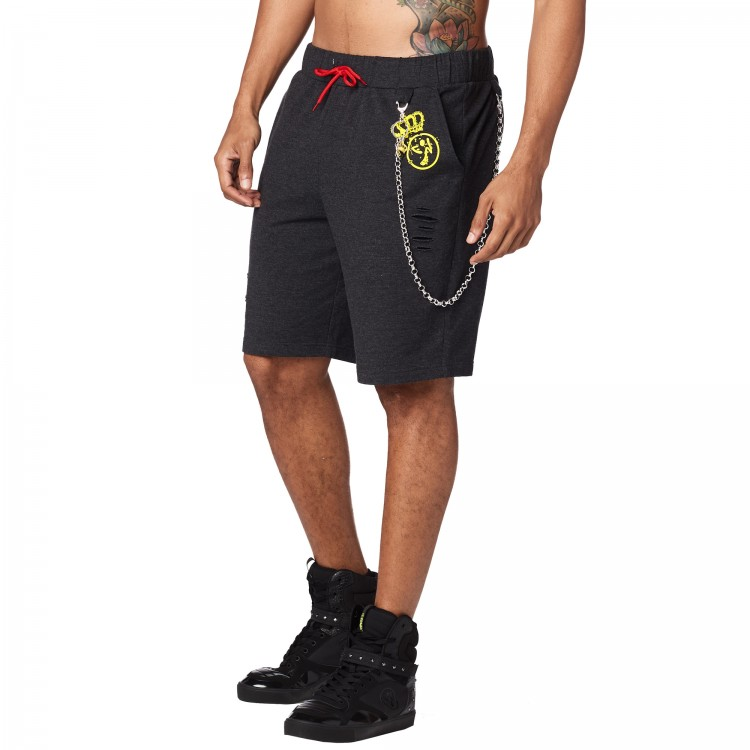 Zumba King Ripped Shorts