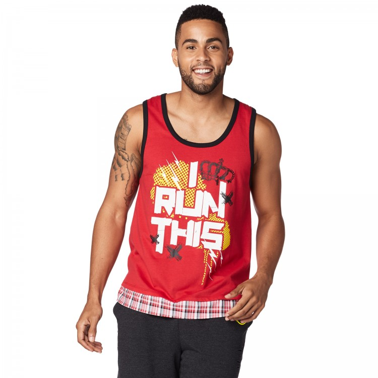 I Run This Men s Tank