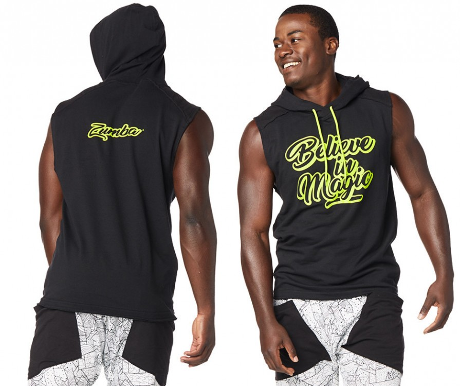 Believe In Magic Sleeveless Hoodie