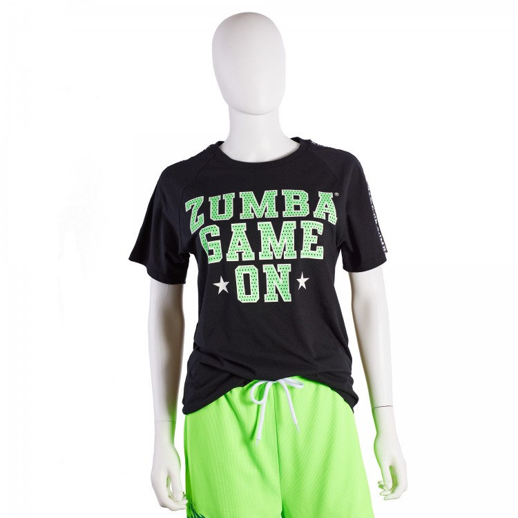 Zumba Game On Mens Tee