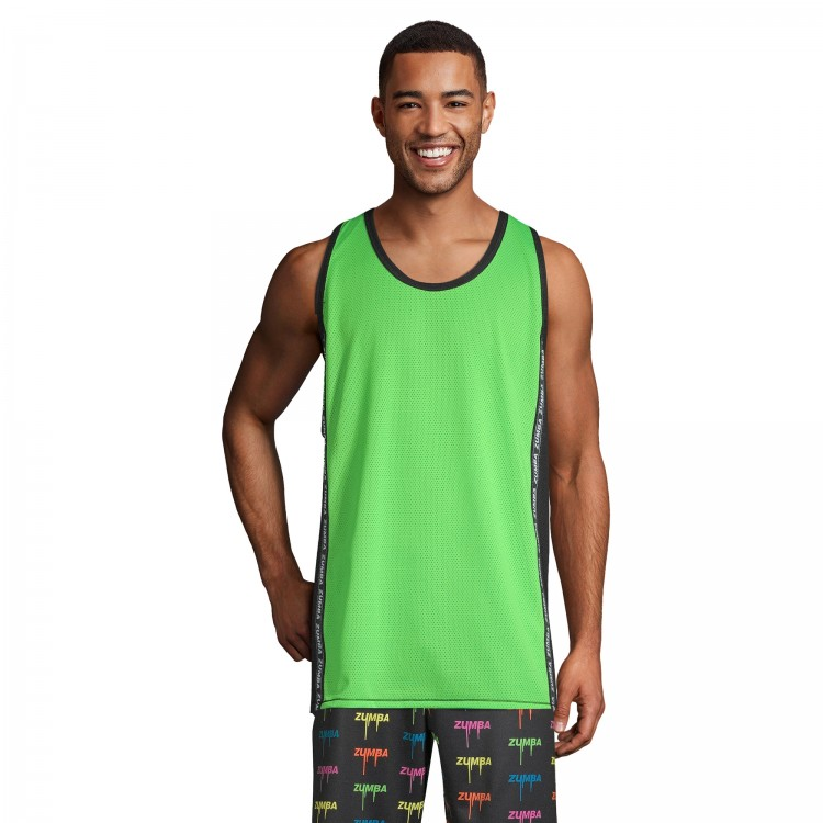 Zumba Legend Mesh Basketball Tank