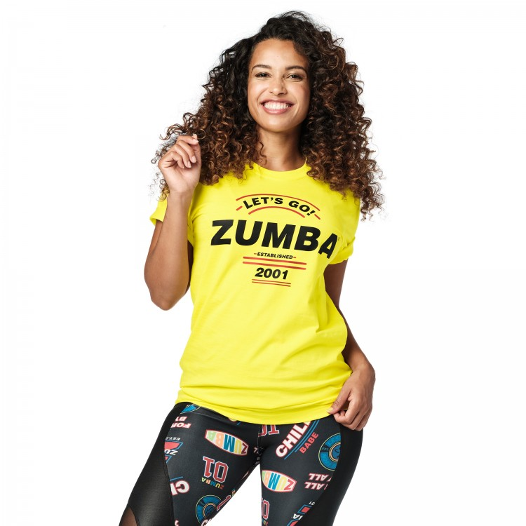 Zumba Lets Go Tee